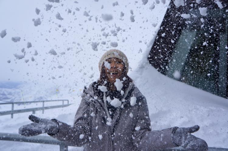 From the Top of the Klein Matterhorn