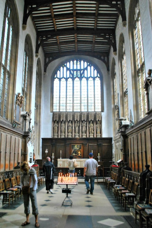 One Day in Oxford - University Church of St Mary the Virgin - www.shewalkstheworld.com