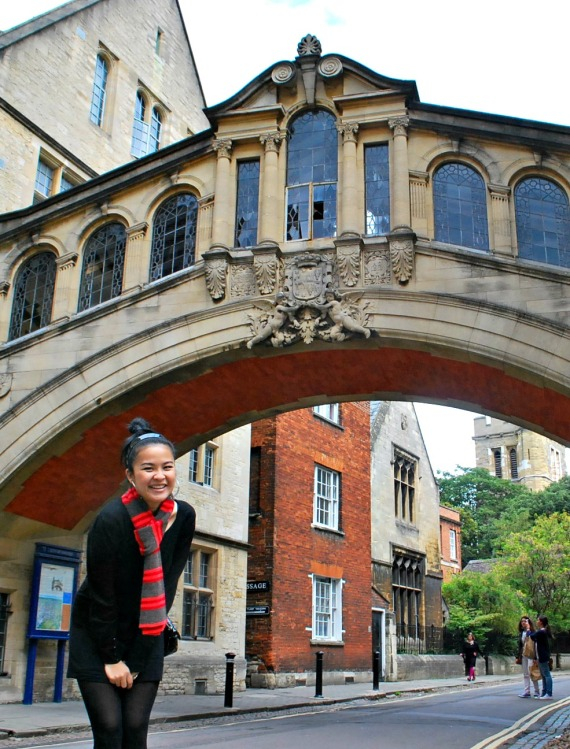 One Day in Oxford - The Bridge of Sighs - www.shewalkstheworld.com