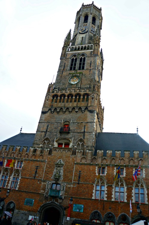 A Winter's Day in Bruges - Bruges Belfry - www.shewalkstheworld.com