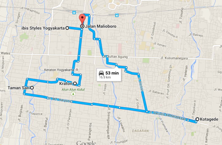 Yogyakarta in 3 Days - Day 3 - www.shewalkstheworld.com
