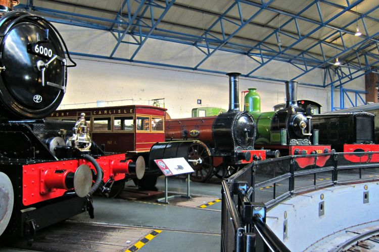 National Railway Museum - Mynn's Top 10 Things to do in York - www.shewalkstheworld.com