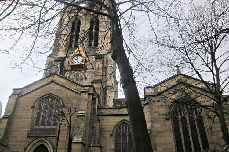 Cathedral Church of St Nicholas - Exploring Newcastle in 24 Hours - www.shewalkstheworld.com