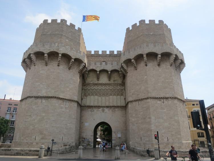 Torres de Serranos - Two Days in Valencia - www.shewalkstheworld.com