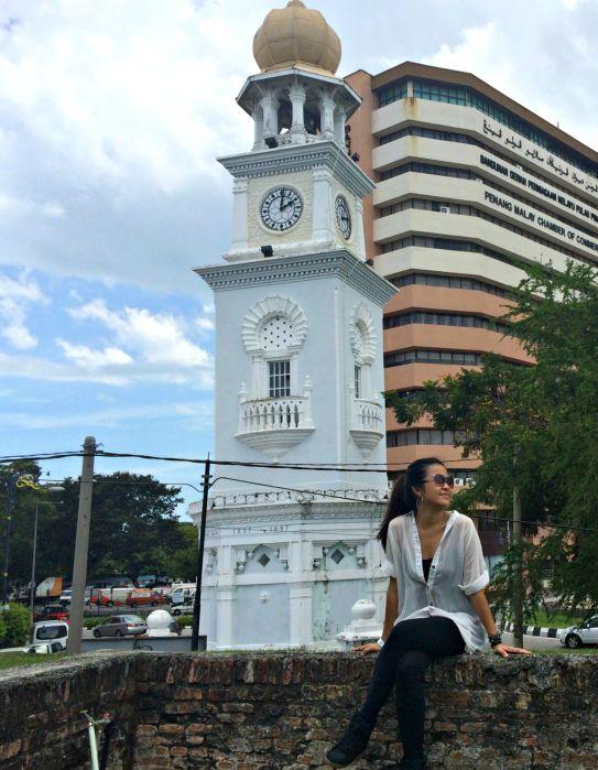 Penang Clock Tower - Mynn's Top 10 Buildings to Visit in Penang's Historical Georgetown - www.shewalkstheworld.com