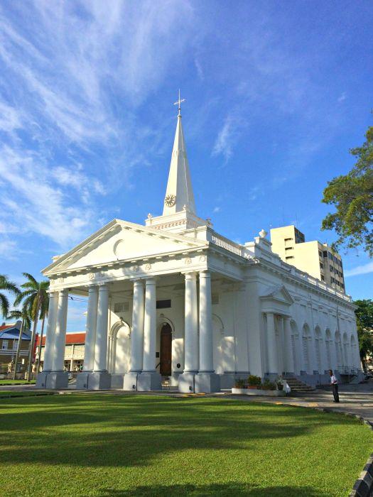 St George's Church - Mynn's Top 10 Buildings to Visit in Penang's Historical Georgetown - www.shewalkstheworld.com
