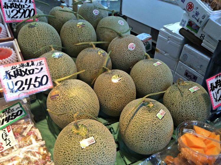Yubari Melon - Mynn's Top 10 Food to Eat in Hokkaido - www.shewalkstheworld.com
