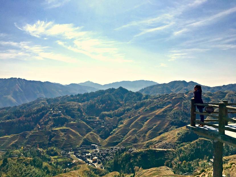 Longji Terraced Fields, Guilin, China.