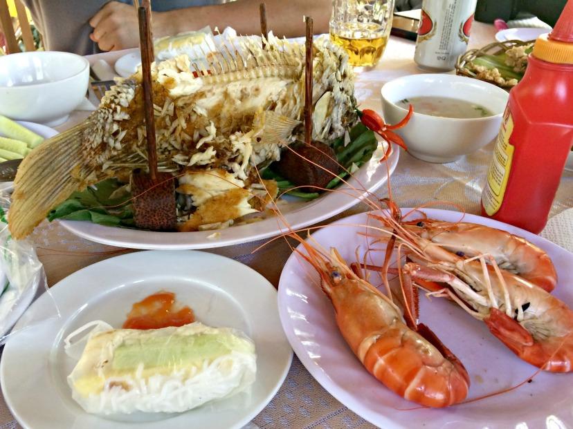 Mekong River - Food