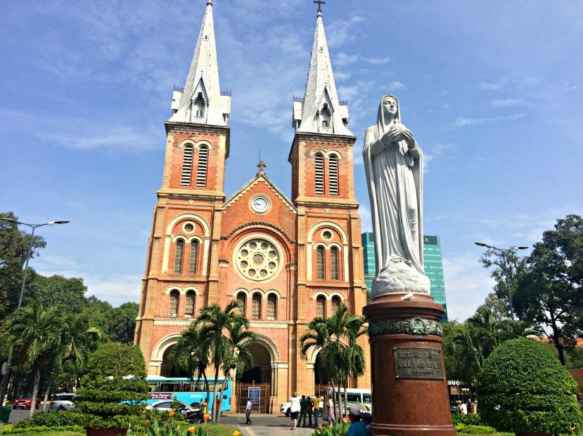 Notredame Cathedral Saigon