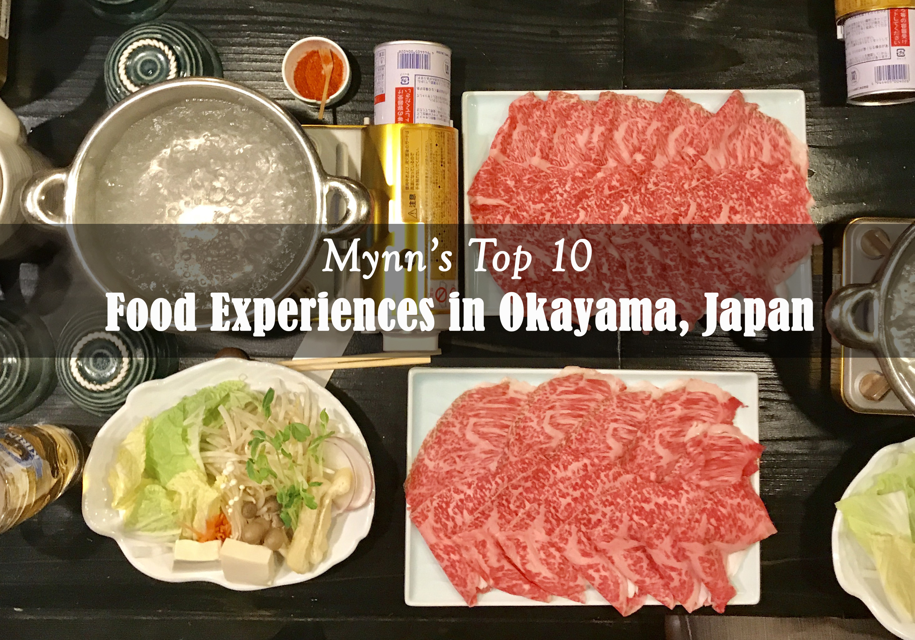 Mynn's Top 10 Food Experiences in Okayama, Japan